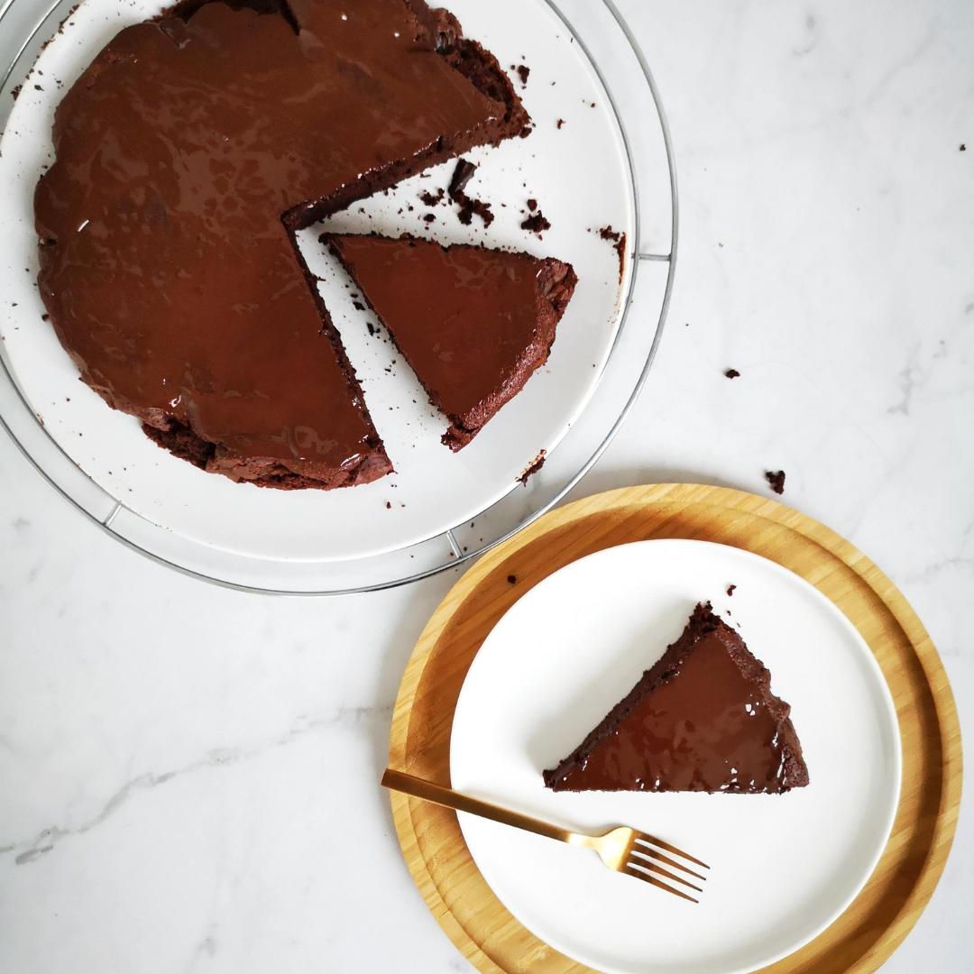 Gezondere chocoladetaart