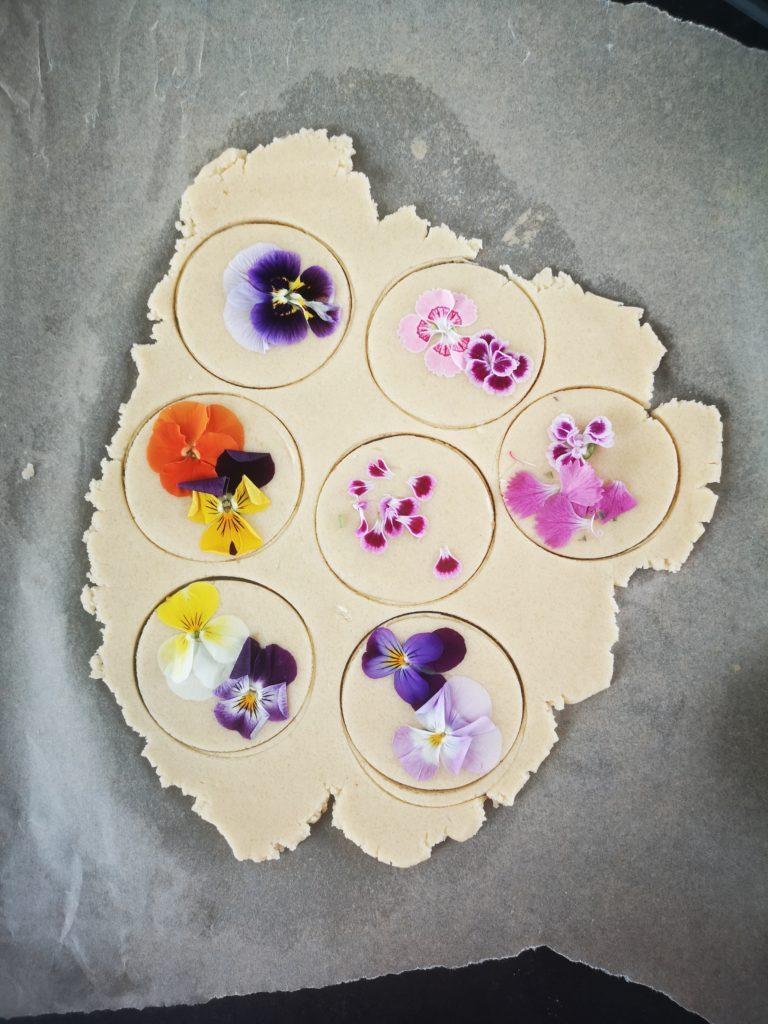 bloemenkoekjes