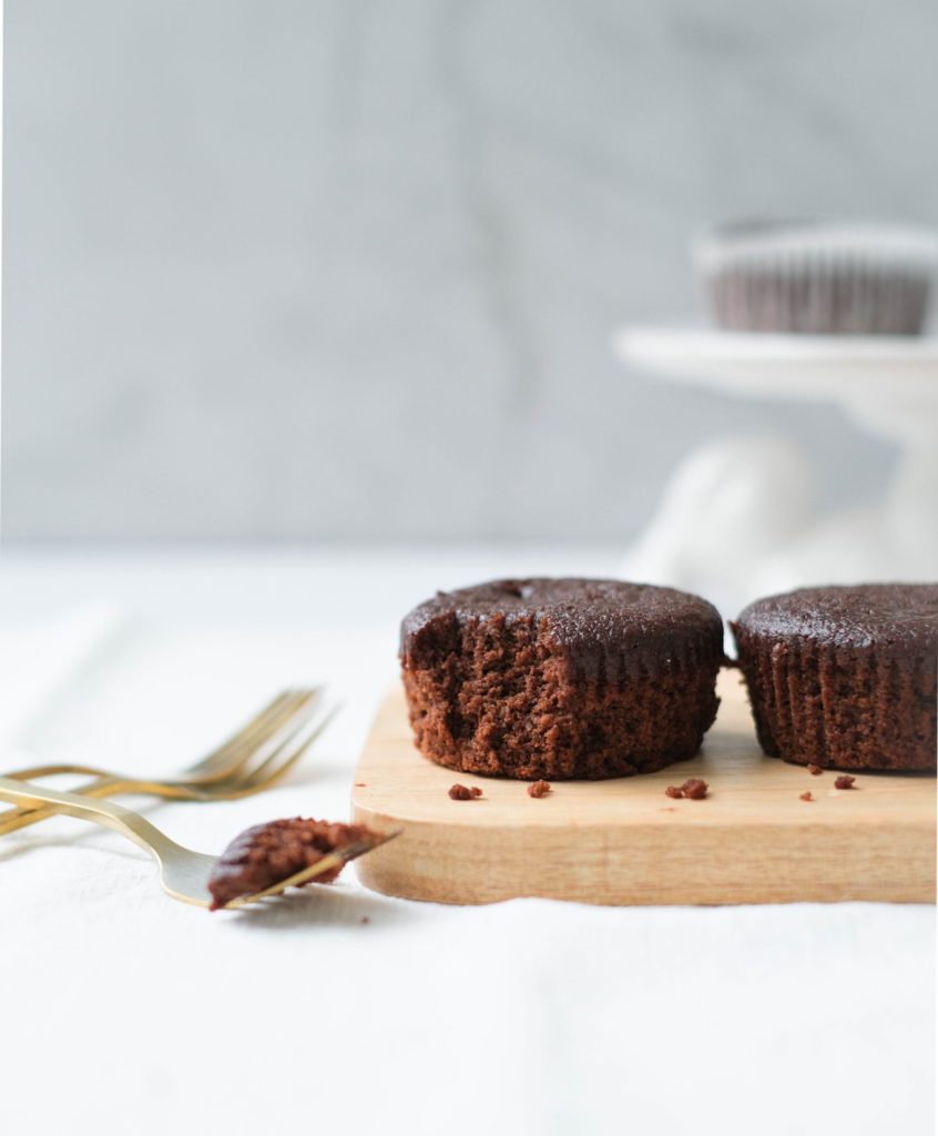 Koolhydraaatarme brownie muffins