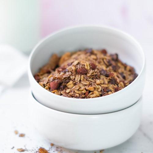 Chocolade kokosmuesli