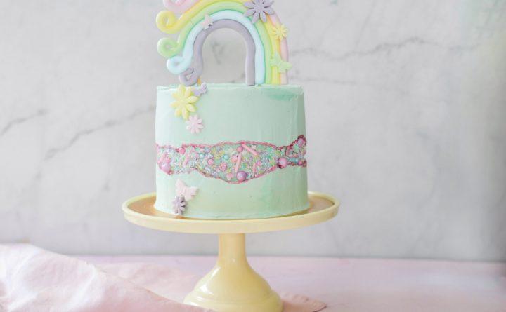 Fault line cake (suikervrij)