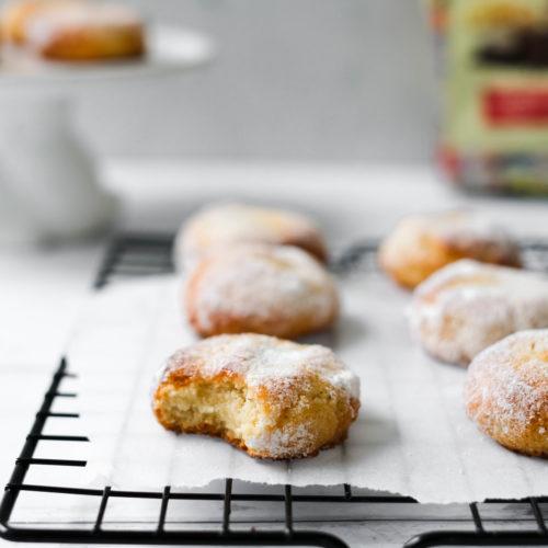 Zachte Amaretti Koekjes zonder suiker