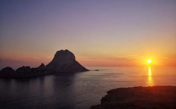 Ibiza Es Vedra zonsondergang